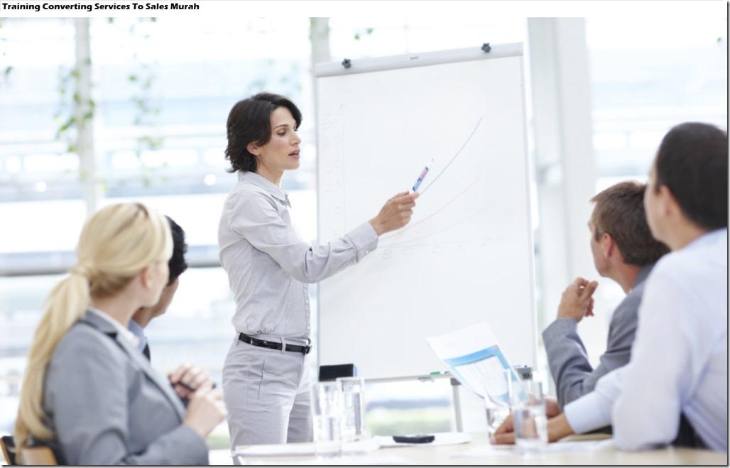 training mengubah pelayanan ke penjualan murah