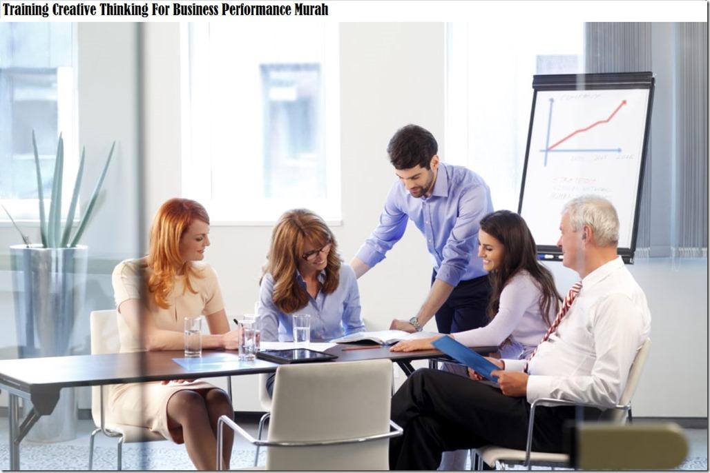 training berfikir kreatif untuk performa bisnis murah