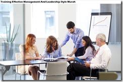 training manajemen yang efektif dan gaya kepemimpinan murah