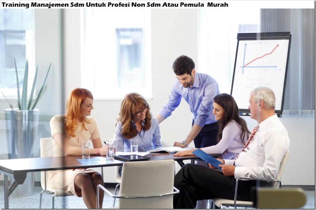 training manajemen sumber daya manusia dan pengembangan  hrm murah