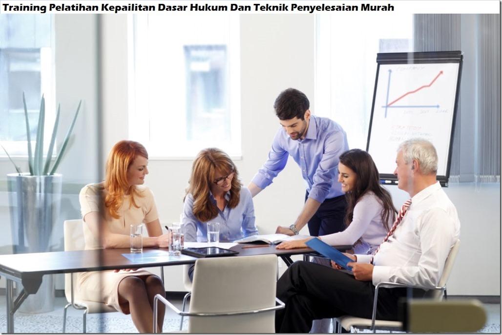 training dasar hukum dan teknik penyelesaian pelatihan kepailitan murah