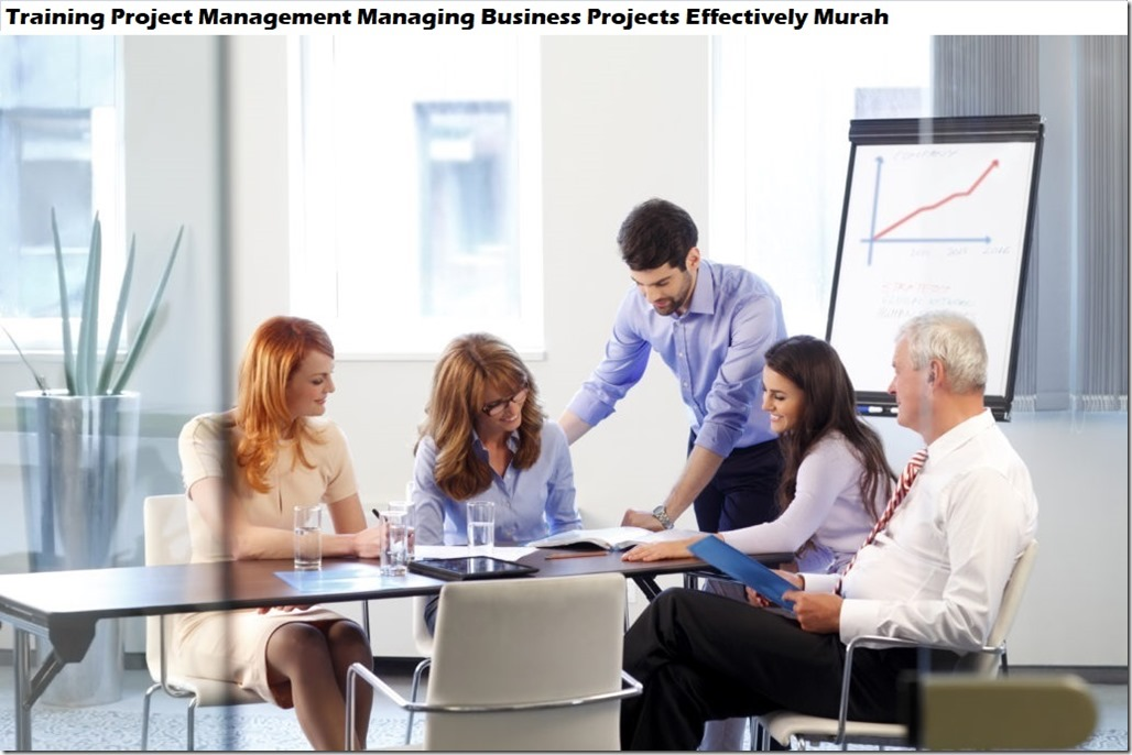 training managing business project effectively murah